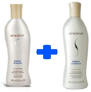 Lot : Senscience Balance (Shampooing + Conditioner)
