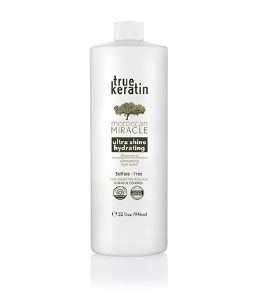 True Keratin : Shampooing Sans SLS  King Size Ultra Brillance 946ml