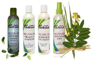 Lusti Naturals Argan Oil : Pack 4 produits Hydratation Totale