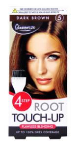 Coloration - Kit Racine- Dark Brown- Couvre 100% des cheveux blancs