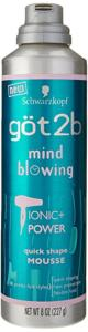 Got2be Mousse Brushing Magique (Mind Blowing) 227gr