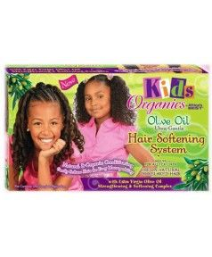 Kids : Olive Oil Hair Softening System