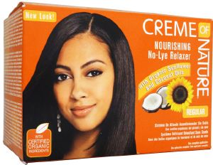 Creme Of Nature : Defrisage No Lye Regular fortifiant